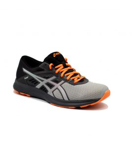 asics fuzor gray orange